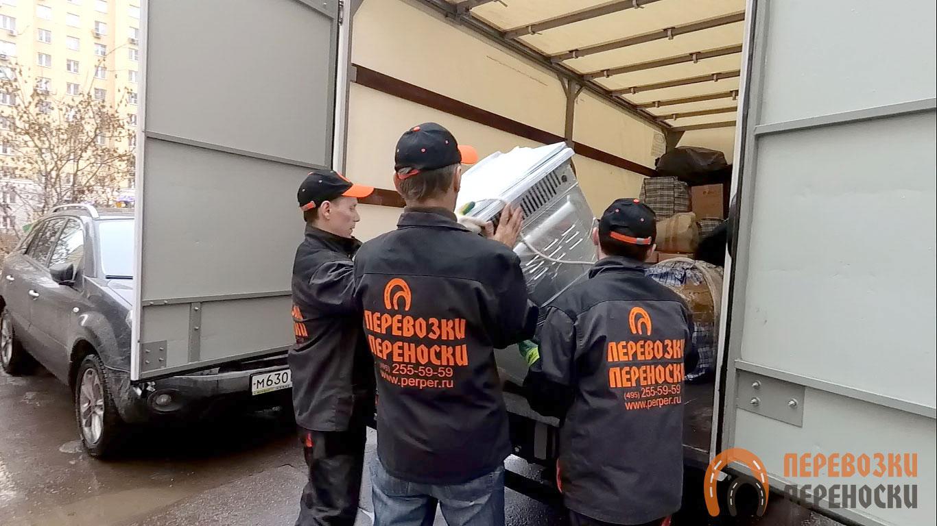 Грузоперевозки в Москве