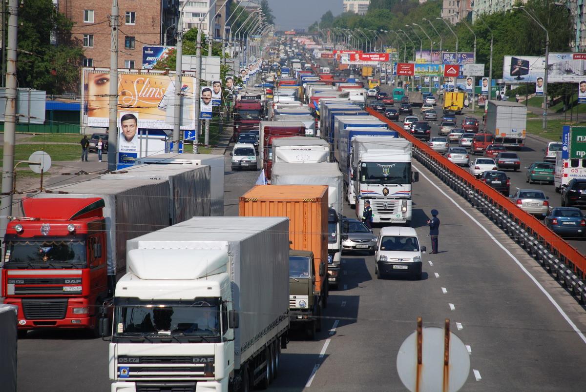 Пропуск в Москву для грузового транспорта